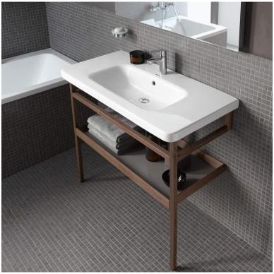 Duravit DuraStyle pakabinamas baldinis praustuvas, 80 x 48 cm, baltas 2