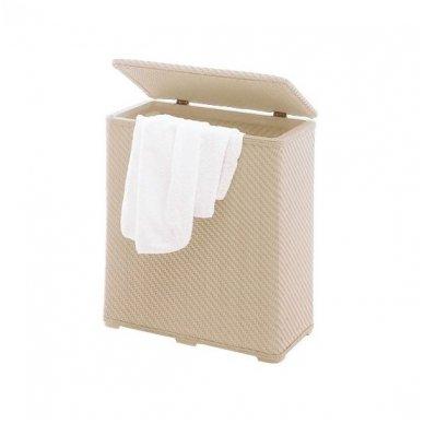 Gedy Ambrogio skalbinių krepšys, smėlio spalvos