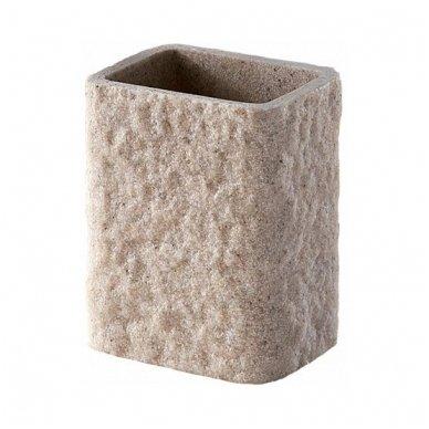 Gedy Aries stiklinė, smėlio spavos