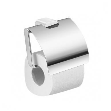 Gedy Azzorre tualetinio popieriaus laikiklis su stogeliu, chromas