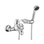 Giulini G Harmony vonios maišytuvas su dušo komplektu, chromo arba bronzinės spalvos