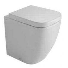 Globo Stone Compact pristatomas WC, 45cm, baltas