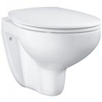 Grohe Bau Rimless pakabinamas WC su lėtai nusileidžiančiu dangčiu, baltas