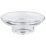 Grohe Essentials stiklinė muilinė, skaidri