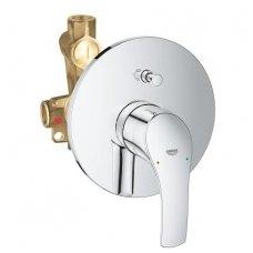 Grohe Eurosmart New potinkinis vonios/dušo maišytuvas su potinkine dalimi, chromas