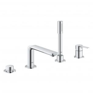 Grohe Lineare New vonios maišytuvas montuojamas į vonios kraštą, chromas