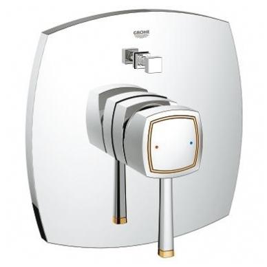 Grohe Grandera potinkinis vonios maišytuvas, chromo arba chromo su auksu spalvos 4