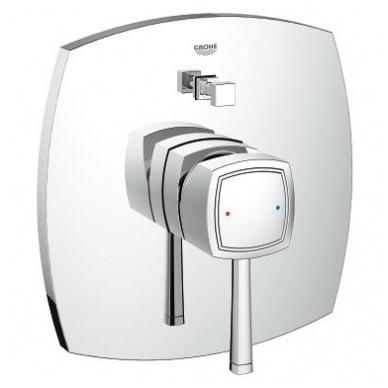 Grohe Grandera potinkinis vonios maišytuvas, chromo arba chromo su auksu spalvos 2