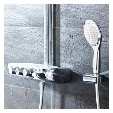 Grohe Rainshower SmartControl 360 Duo termostatinė dušo sistema, chromas 4