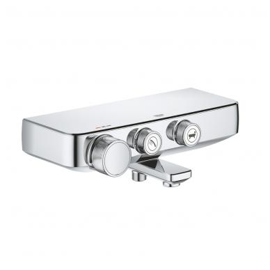Grohe SmartControl termostatinis vonios maišytuvas, chromas