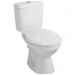 Gustavsberg Saval pastatomas WC, horizontalus nuotakas, baltas