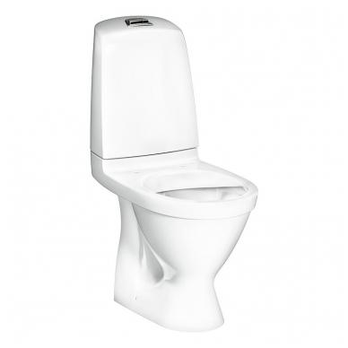 Gustavsberg Nautic Hygienic Flush 1510 pastatomas WC su lėtai nusileidžiančiu dangčiu 4