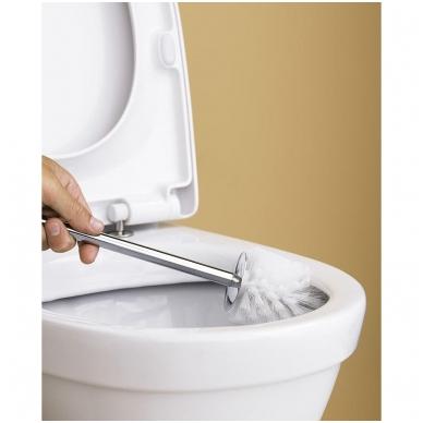 Gustavsberg Nautic Hygienic Flush 1510 pastatomas WC su lėtai nusileidžiančiu dangčiu 2