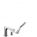 Hansgrohe Metris vonios maišytuvas montuojamas į kraštą, chromas