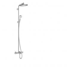 Hansgrohe Crometta S 240 1jet termostatinė vonios/dušo sistema, chromas
