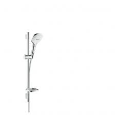 Hansgrohe Raindance Select E 120 dušo komplektas, balta/chromo spalva