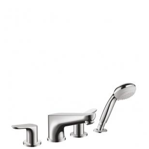 Hansgrohe Focus vonios maišytuvas montuojamas į vonios kraštą, chromas