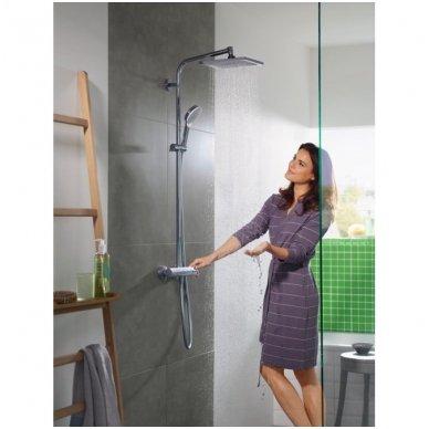Hansgrohe Crometta E 240 termostatinė dušo sistema, chromas 2