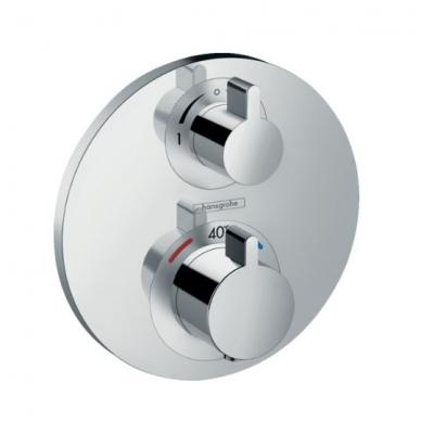 Hansgrohe Ecostat S potinkinis termostatinis vonios maišytuvas, chromas