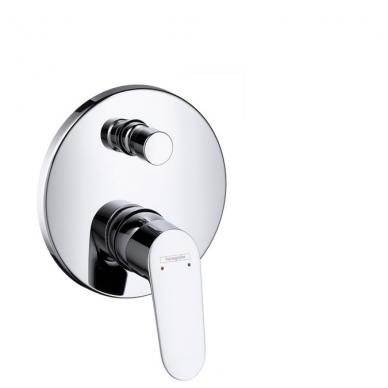 Hansgrohe Focus potinkinis vonios maišytuvas, chromas