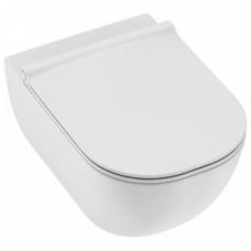 Jika Mio Rimless pakabinamas WC, baltas
