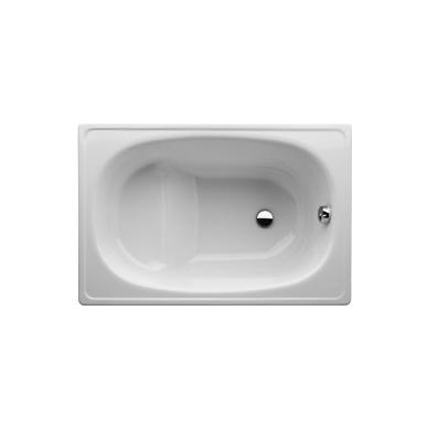 Jika Riga plieninė sėdimoji vonia su kojelėmis, 105 x 70, balta