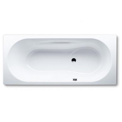 "Kaldewei Vaio Set plieninė vonia, 170 x 75 cm, su ""perlo efektu"", garso izoliacinėmis gumomis, balta"
