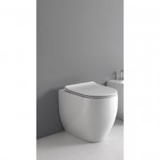 Kerasan Flo pastatomas WC 56 cm, matinis baltas