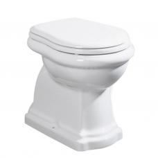 Kerasan Retro pastatomas WC, su lėtai nusileidžiančiu dangčiu