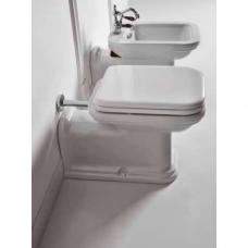 Kerasan Waldorf prailgintas WC su lėtai nusileidžiančiu dangčiu, baltas