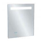 Kohler veidrodis, su LED apšvietimu, nerasojantis, su laikrodžiu, 55 x 65 cm, IP44
