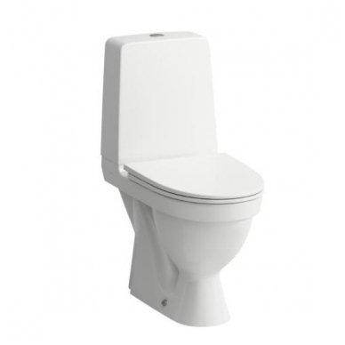 Laufen Kompas pastatomas WC su lėtai nusileidžiančiu dangčiu, baltas