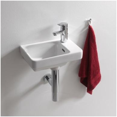 Laufen Pro S mažas praustuvas, 36 x 25 cm, baltas