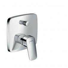 Logis potinkinis vonios/dušo maišytuvas, chromas