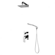 Omnires Baretti potinkinė dušo sistema, chromas