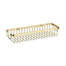 Omnires dušo lentynėlė 8963AGL, aukso spalvos