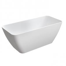 Omnires Parma laisvai pastatoma vonia, blizgi balta