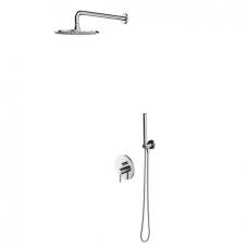 Omnires Y potinkinė dušo sistema, chromas