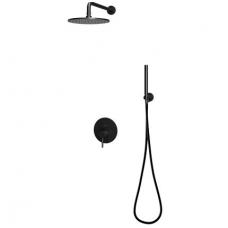 Omnires Y potinkinė dušo sistema, juodos spalvos