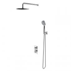 Omnires Y termostatinė dušo sistema, chromas