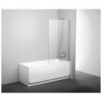 Ravak PVS1 stacionari vonios sienelė, 80 x 140
