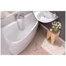 Ravak Avocado akrilinė, asimetrinė vonia, balta