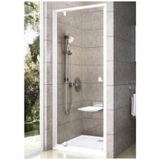 Ravak Pivot PDOP1 dušo durys, 90cm, stiklas skaidrus Transparent, profilis baltas/baltas