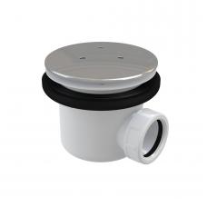 Ravak Professional 90 dušo padėklo sifonas su metaliniu chromuotu dangteliu