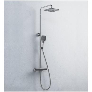 Ravak 10° termostatinė dušo sistema, chromas 2