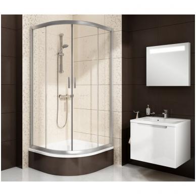 Ravak Blix BLCP4 Sabina dušo kabina su giliu padėklu, 80 x 80, 90 x 90