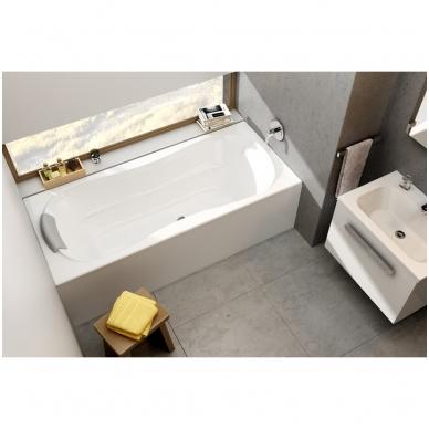 Ravak Campanula II akrilinė vonia, balta