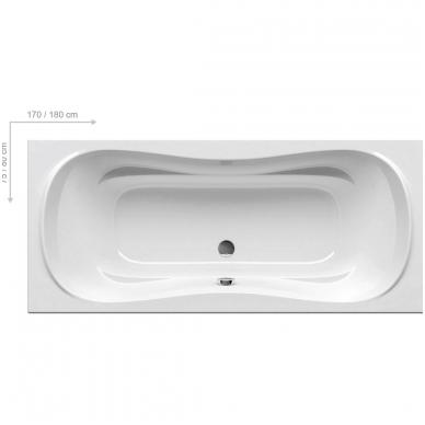 Ravak Campanula II akrilinė vonia, balta 2
