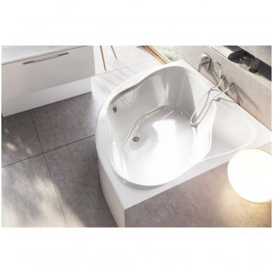 Ravak NewDay akrilinė kampinė vonia, 140 x 140, balta