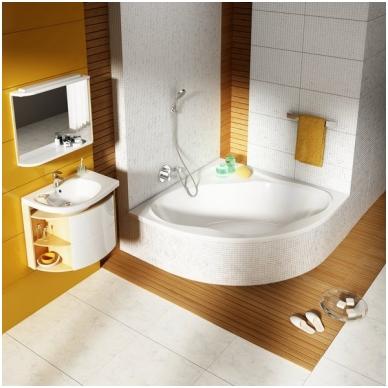 Ravak NewDay akrilinė kampinė vonia, 140 x 140, balta 2